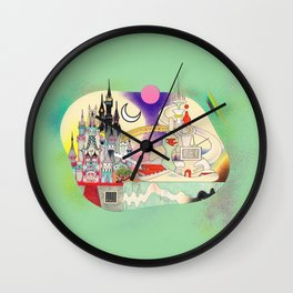Castle to Castle Wall Clock