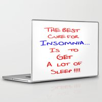 the cure Laptop & iPad Skins featuring The best cure for... by Brian Raggatt