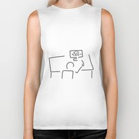 engineer Biker Tanks featuring mechanical engineering engineer by Lineamentum