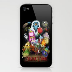 Zelda Time! iPhone & iPod Skin