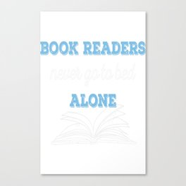 Book Reader Canvas Print