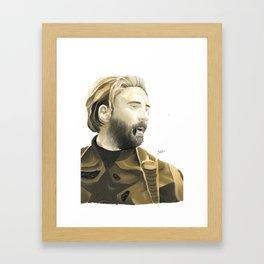 Steve Rogers Framed Art Print