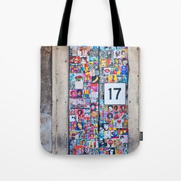 The Secret behind the Door Number 17 of Catania - Sicily Tote Bag