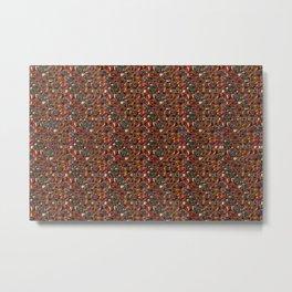 Folds & Tangles 1 (Stereogram Version) Metal Print