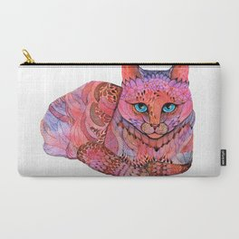 SUNSET CAT Carry-All Pouch