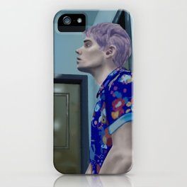 WE NEED TO TALK (piece #1) iPhone Case