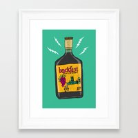 bucky Framed Art Prints featuring Bucky by Arron Croasdell