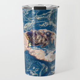Underwater diffraction Travel Mug