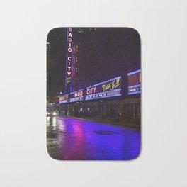 Reflections of Radio City Music Hall Bath Mat