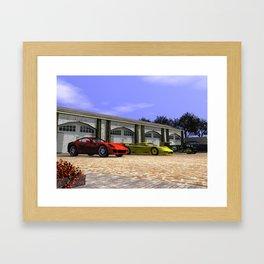 Classic Garage Framed Art Print
