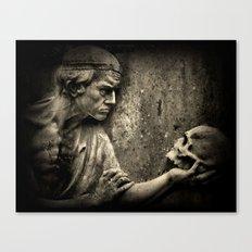 The Doctors Grave Canvas Print