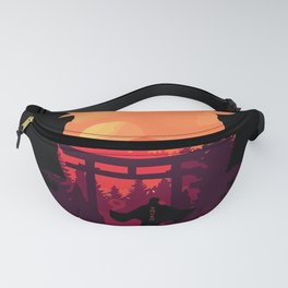 Fire Shadow Fanny Pack