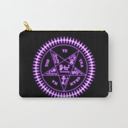 Sebastian Michaelis Sigil Light (black bg) Carry-All Pouch
