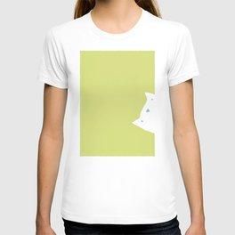 Peek-a-mew T-shirt