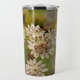 Astrantia 'Buckland' Flowers Travel Mug
