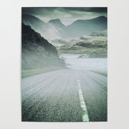 The Road and the Mountains Poster