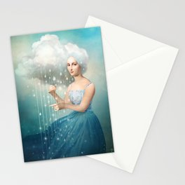 Melody of Rain Stationery Cards