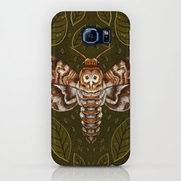 Deaths-Head Moth iPhone Case