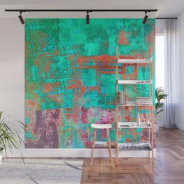 Abstract Ladder Wall Mural