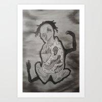 Self Exploration Art Print