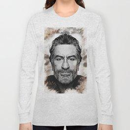 Robert De Niro - Caricature Long Sleeve T-shirt