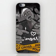 I Heart Zombies iPhone & iPod Skin