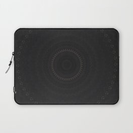 Bohemian Black Midnight Mandala Laptop Sleeve