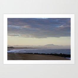 Morning Horizon  Art Print