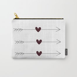Arrows & Hearts Carry-All Pouch