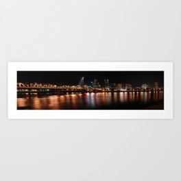 portland across the willamette Art Print