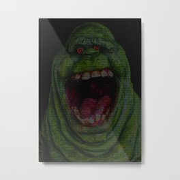 Slimer: Ghostbusters Screenplay Print Metal Print