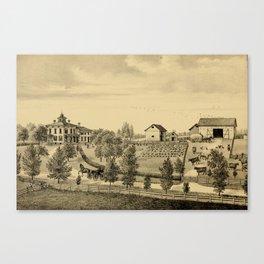 Oswego County, New York 1877 Canvas Print