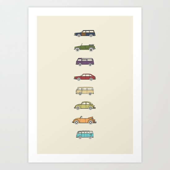 VWs Art Print