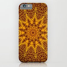indian hand patterns iPhone 6s Slim Case