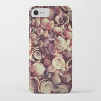 shells iPhone & iPod Cases featuring Shells by HooVeHee