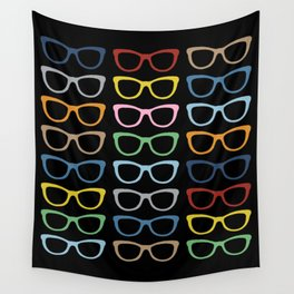 Sunglasses at Night Wall Tapestry
