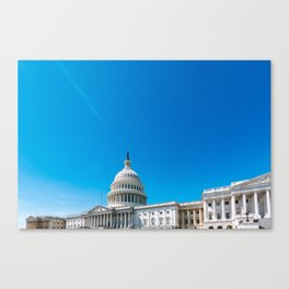 The Capitol - Washington DC Canvas Print