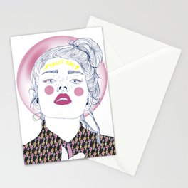 Power Girl Stationery Cards