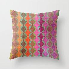Colour Harmonies Throw Pillow