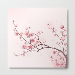 Oriental cheery blossom in spring 006 Metal Print