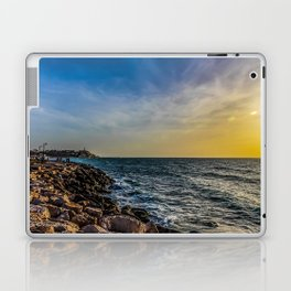 Sunset at Jaffa  Laptop & iPad Skin