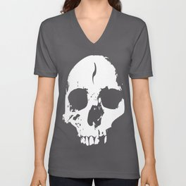 Broken Skull Unisex V-Neck