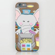 Elsa in the Coffee Shop  - Fun, sweet, creative and colorful, original,digital children illustration iPhone 6s Slim Case