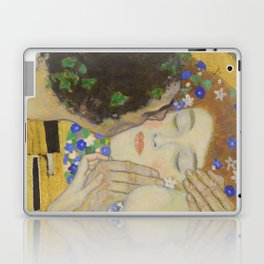 The Kiss - Closeup - Gustav Klimt Laptop & iPad Skin