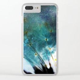 Taraxacum Clear iPhone Case
