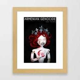 Armenian Genocide Centennial Framed Art Print