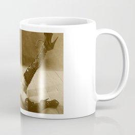 Vintage Bondage style with nude woman Coffee Mug