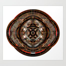 The Resonant Frequencies of Hell Art Print