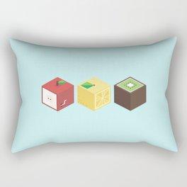 Fruit cubes Rectangular Pillow