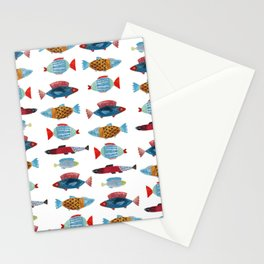 Fish Buddies Stationery Cards